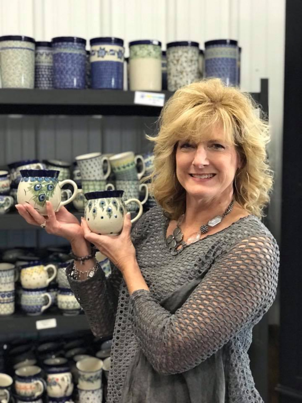 We now carry Polish Pottery which hails from Boleslawiec, Poland